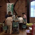 油津赤レンガ館に直売コーナーがオープン