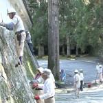 飫肥城跡と関連施設の奉仕作業