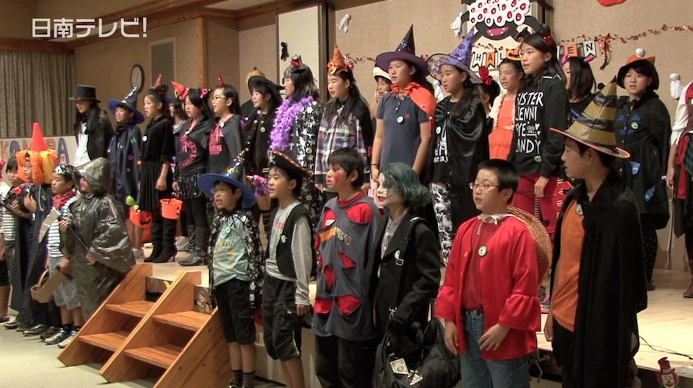 国際塾のハロウィンパーティー