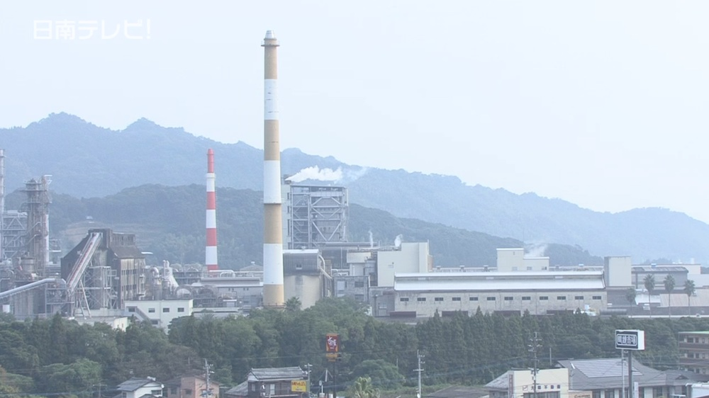 日南にバイオマス発電所