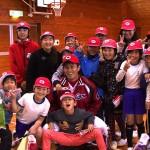広島カープ 若手選手が学校訪問
