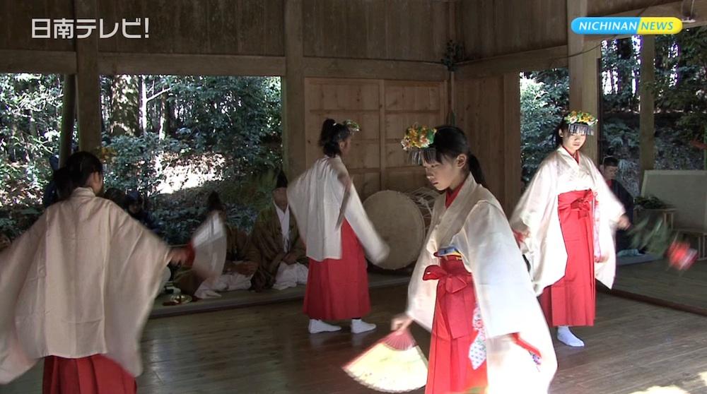 潮嶽神社 春大祭で今年の作柄を占う