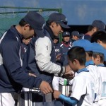 西武ライオンズとスポーツ少年団ふれあい交流会(2014)
