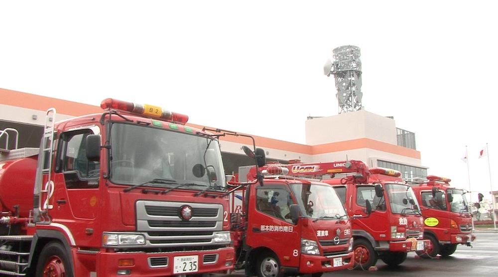 日南市新消防庁舎が完成