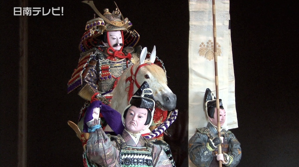 大正時代の珍しい五月人形