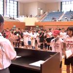 日南市スポーツ少年団の結団式
