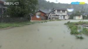 台風11号で避難勧告