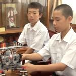 中学生 陸上やロボコン 全国大会出場の報告