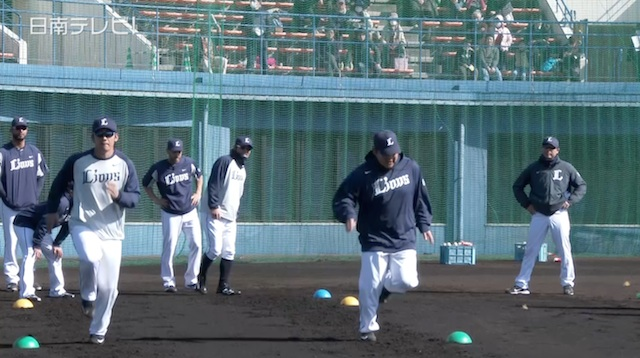 埼玉西武ライオンズ 春季キャンプ2015
