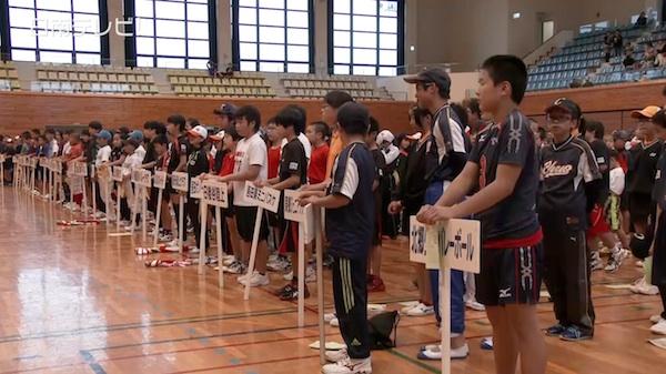 日南市スポーツ少年団の結団式(2015)