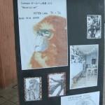 Yotten labo.でボールペン画展