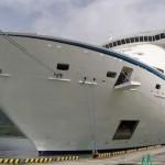 大型クルーズ船「ボイジャー・オブ・ザ・シーズ」初寄港