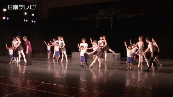 小学校で本格的なクラシックバレエを公演