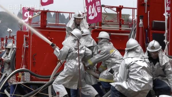 消防出初め式(2016年)