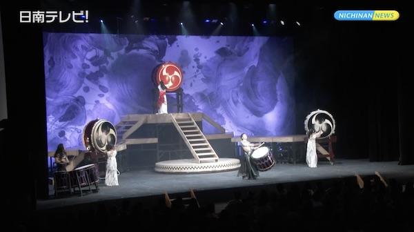 DRUM TAOが20年振りに日南公演