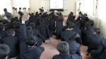 日南振徳高校で建設業PR教室