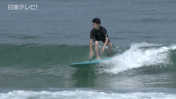 今年で10年目 中学生のサーフィン授業