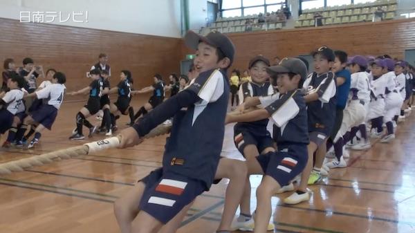 日南市スポーツ少年団の結団式(2017)