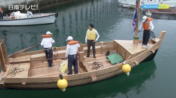 木造帆船「チョロ船」4号艇が公開