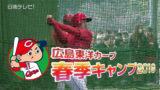 広島カープ 日南春季キャンプ一軍手締め(2019)