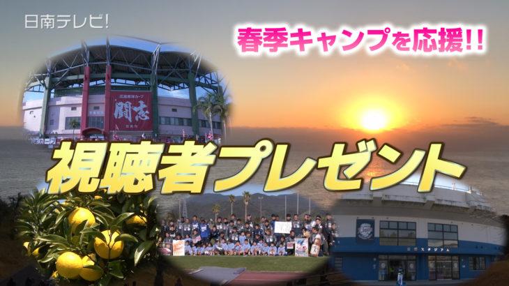 春季キャンプ 選手サインプレゼント(終了)