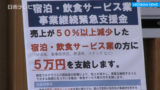 新型コロナ対策 宿泊・飲食サービス業に5万円支給