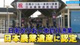 日南かつお一本釣り漁業が日本農業遺産に認定