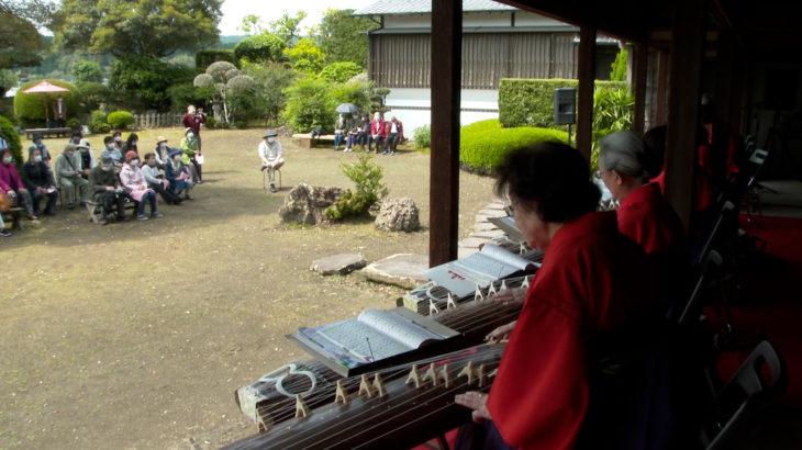 武家屋敷 豫章館で「春の邦楽演奏会」