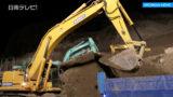 国道220号災害復旧 宮崎河川国道事務所が現場状況を説明
